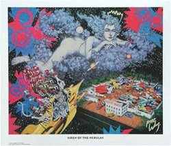 Robert Williams Siren of the Nebulas Limited Edition Lithograph