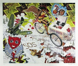 Robert Williams Apathy Cicle Original Limited Edition Print