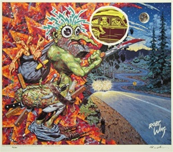 Robert Williams Arm whacker Limited Edition Lithogr