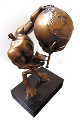 Robert Williams Brute Waste Original Bronze Sculpture