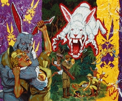 Robert Williams Thumpert, the Fascist Cottontail Limited Edition Print