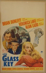 The Glass Key US Window Card
