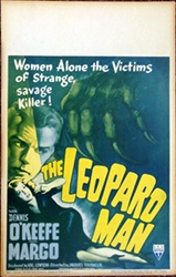 The Leopard Man US Window Card