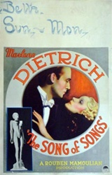 The Song of Songs US Window Card