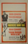 Thunderball/From Russia With Love Combo US Window Card