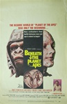 Beneath the Planet of the Apes US Window Card