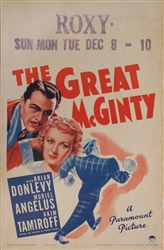 The Great McGinty US Window Card