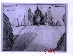 Charles Wish Dead Meadow 2 Original Drawing