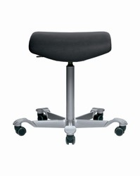 HAG Capisco Stool w/ Flat Seat ESD Clean Room