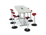 Confluence Table by Focal Upright Furniture