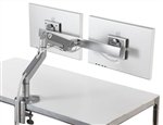 Humanscale M8 flat panel monitor arm with crossbar