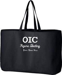 OIC Figure Skating Jumbo Tote Bag
