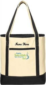 Florida Everblades Jumbo Canvas Boat Tote
