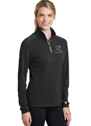 Blue Ridge FSC Ladies 1/4 Zip Athletic Fleece