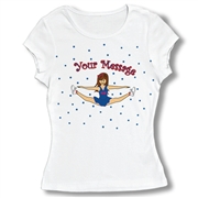 Cheer Toe Touch Baby Doll Tee