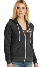 Carolina Ice Synchro Eco-Fleece Zip Hoodie