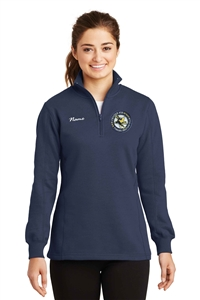 Center Ice FSC Ladies 1/4 Zip Sweatshirt