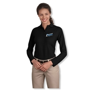 Cottonwood Heights Ladies Long Sleeve Polo