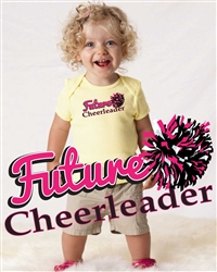 Future Cheerleader Baby Tee