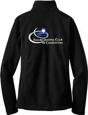 FSC of Charleston Ladies Cut Polar Fleece Jacket