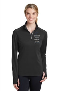 Garden FSC Ladies 1/4 Zip Athletic Fleece