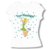 Ice Skate Jump for Joy Baby Doll Tee