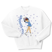 Ice Skate Picture perfect Crewneck Fleece