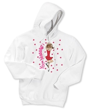 Ice Skate Scratch Spin Hoodie