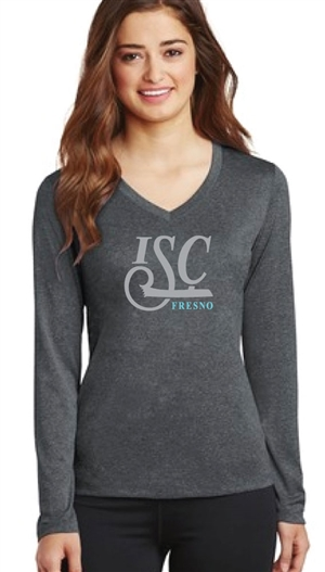 ISC Fresno Ladies Long Sleeve V Tee