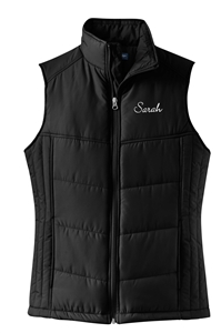 Sooner SC Ladies Puffy Vest