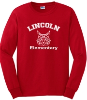 Lincoln Elementary Desing B Long Sleeve Tee