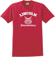 Lincoln Elementary Desing B Tee