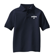 Madison Embroidered Navy Polo