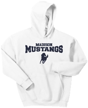 Madison White Hoodie Design A