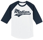 Madison Baseball Tee Design B