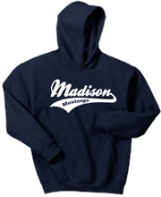 Madison Navy Hoodie Design B
