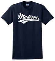 Madison Navy Tee Design B