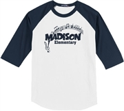 Madison Baseball Tee Design C