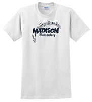 Madison White Tee Design C
