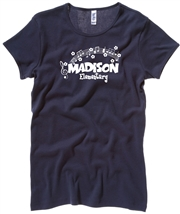 Madison Navy Tee Design E