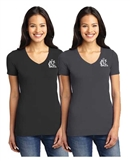 NCL  Los Gatos Saratoga Stretchy V-Neck Tee