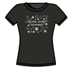 Silver Stars Synchro Black SS Tee