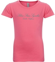 Silver Stars Synchro Bright Pink SS Tee