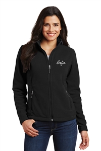 Nebraska Skating Academy Ladies Fleece Jacket