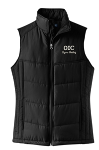 OIC Figure Skating Ladies Puffy Vest