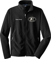Kingsgate SC Unisex Chest Logo  Fleece Jacket