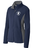 Sierra Staff Ladies Color Block Fleece Jacket