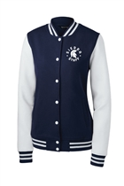Sierra Staff Ladies Fleece Letterman Jacket