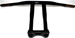 10 inch SBOB TBARS POWDERCOAT BLACK