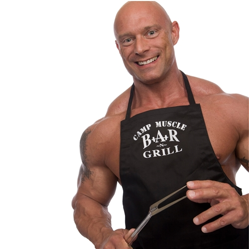 Camp Muscle Unisex Chef's Apron